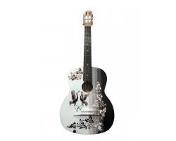 (4507) Гитара с Росписью Лучший Подарок Девушке на 8 Марта