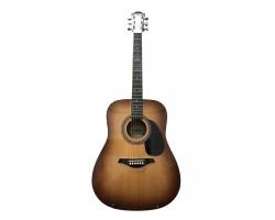 (4555) Гитара Акустическая Hohner HW220SB как Новая