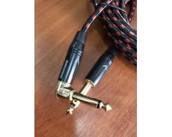 Идеальный инструментальный  кабель (5м)  для электро или бас-гитары