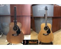 03182 Замена грифа Гитары Yamaha F310